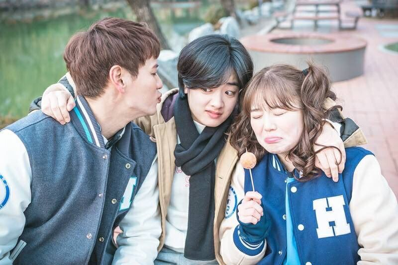 A still from one of my favorite kdrama series, a show called 'Weightlifting Fairy Kim Bok-joo'. It featured tons of Korean slang and cultural references that seem like inside jokes.