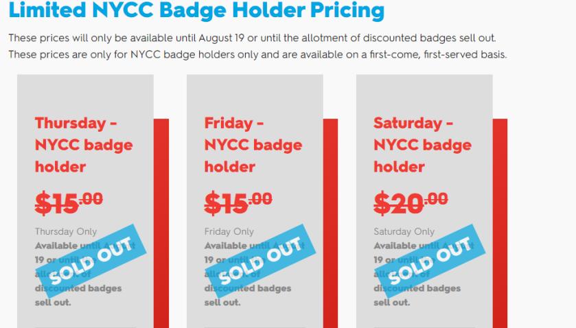 nycc badges