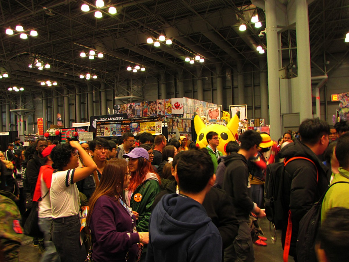 My Oddly Interesting Observations at Anime NYC 2018