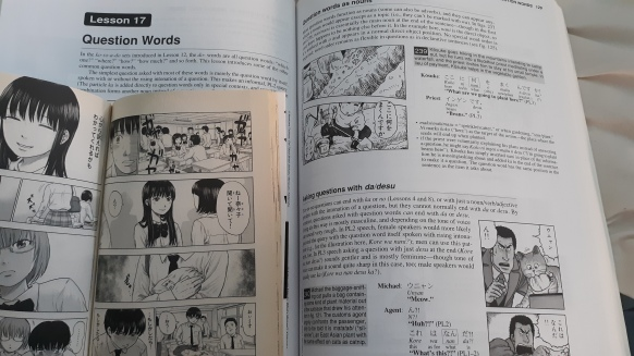 Aku no Hana Vol 1 and Japanese the Manga Way