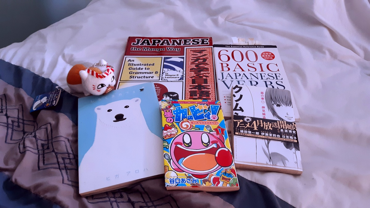 Learning Japanese through Manga