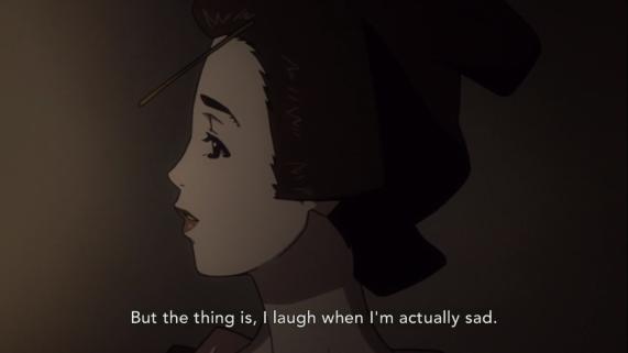 Shino developed a coping method similar to Mio.