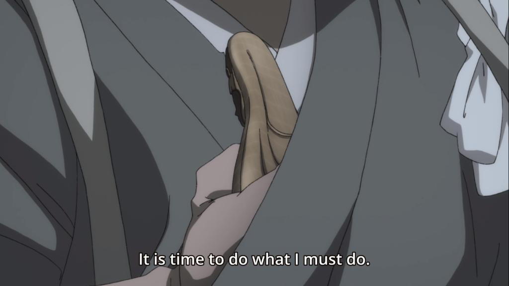 What is Jukai planning? Dororo, episode 23