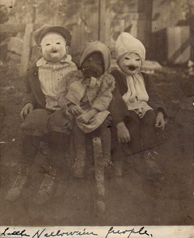"""Little Halloween People"""