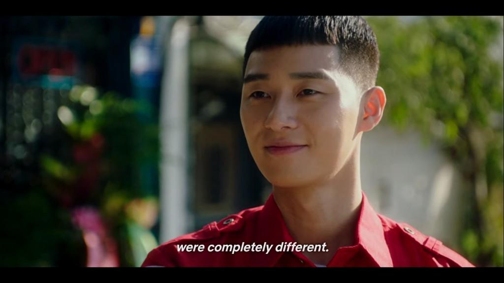 Choi Seung Kwon's reflection. Itaewon Class Episode 4