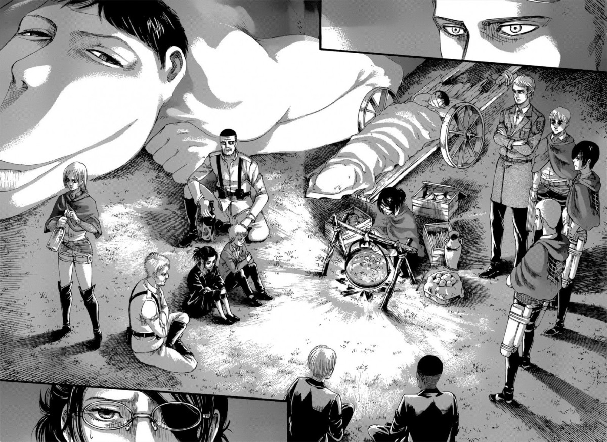 Calm Before the Storm – Shingeki no Kyojin Chapter 127 Review