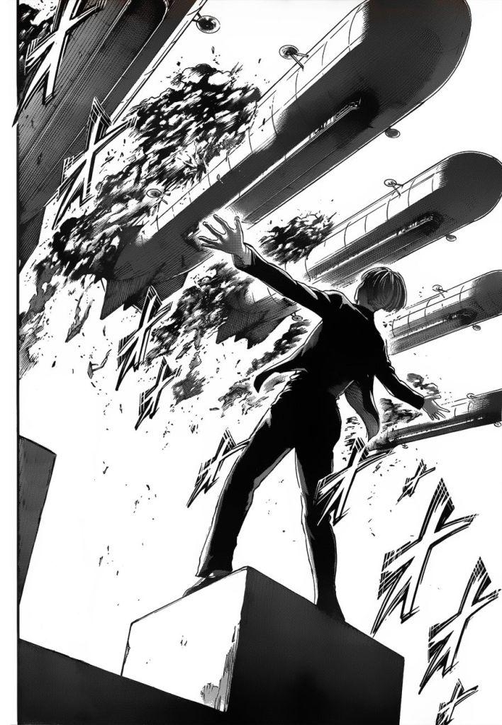 Yelena, Goddess of Chaos. Shingeki no Kyojin ch 118
