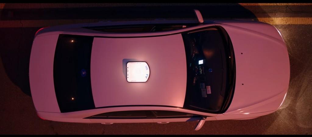 Taxi cab overhead shot. Goedam Episode 2