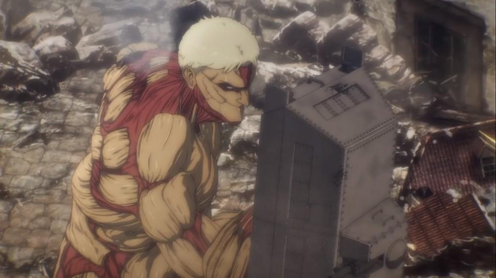 Reiner Braun - wielder of the Plot Armor Titan. Attack on Titan Season 4 Episode 1