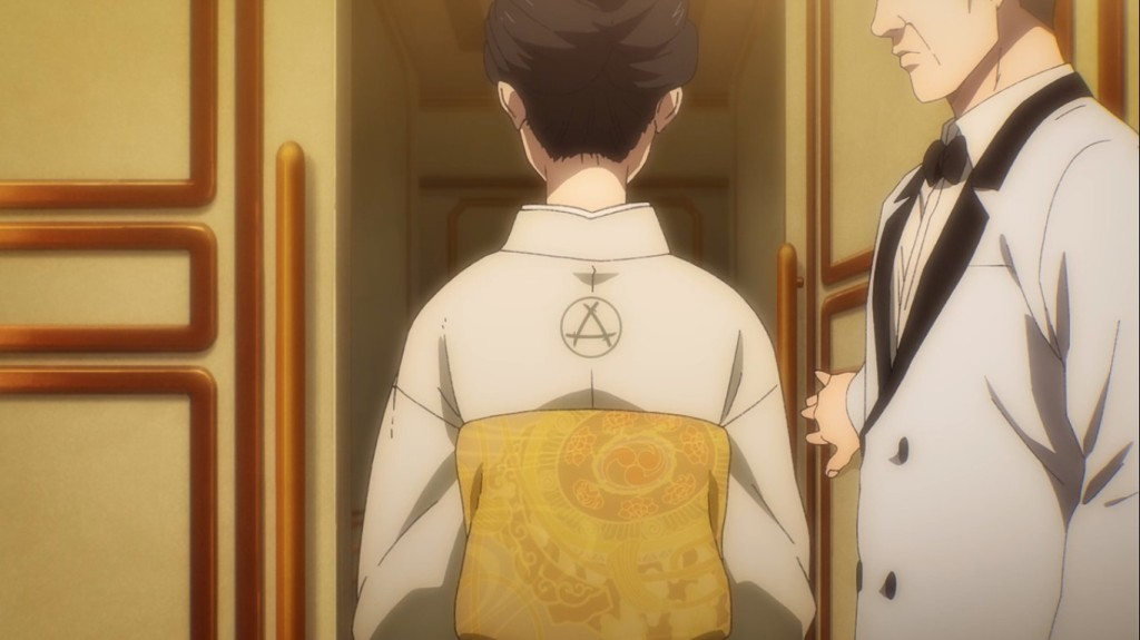 Oh look, Kiyomi from Hizuru has arrived on the scene. Attack on Titan the Final Season Episode 4