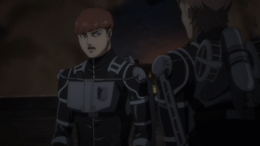 Look at my king. Floch Forster, Attack on Titan the Final Season episode 6