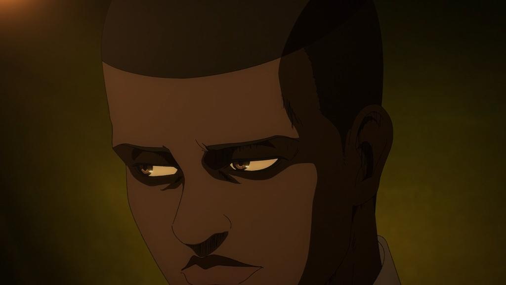 Onyankopon is on to you, Yelena. Attack on Titan season 4 episode 9