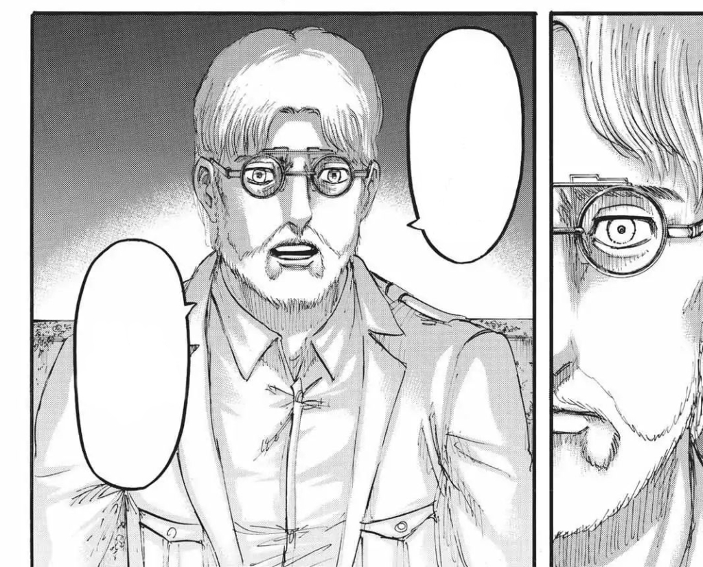 Thinking I might update this with the proper speech bubbles if the anime doesn't cover this next episode. Since they seem to love doing Zeke dirty - and I'm not even a Zeke fan. Shingeki no Kyojin manga chapter 107