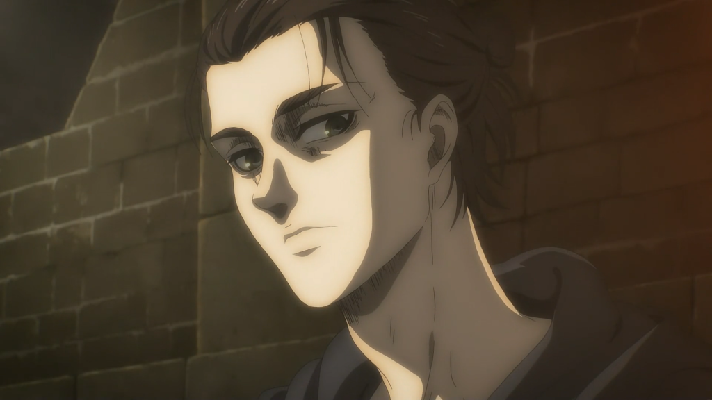 Pieck sheds some light on Zeke Yeager's true intentions for Eren. Attack on Titan Season 4, Episode 16
