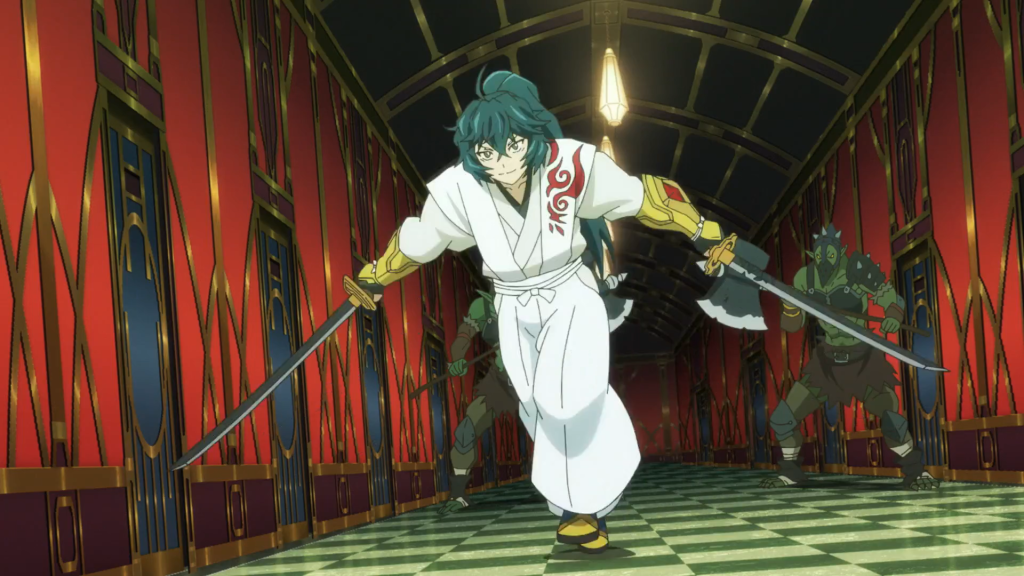 Soujiro only showed up twice this season and stole every scene he was in. Log Horizon Season 3, Episode 11