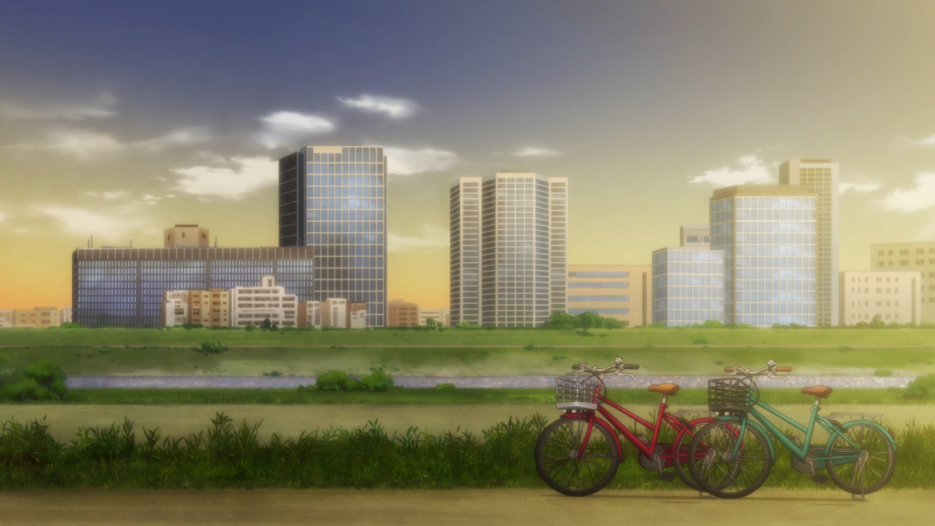 Bikes by the wayside. Tokyo Revengers Episode 3