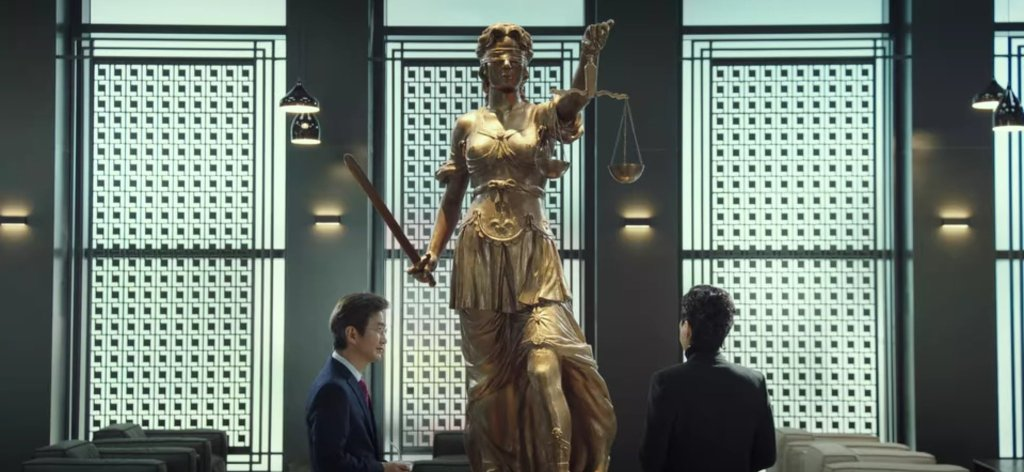 """""""The Sword of Justice is swift and sharp"""" - Law School kdrama Episode 1"""