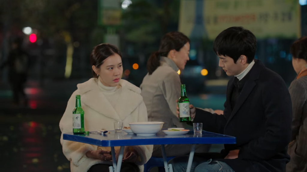 The most natural progression of romance in the story by two characters who literally have zero impact on the overall drama series. Revolutionary Love Ep 12