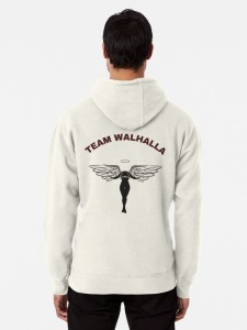 Limited edition Tokyo Revengers inspired Team Valhalla hoodie for sale over on the shop!